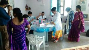 World Oral Health Day Celebration - Screening Camp at Vivekanand Prathamik School in Collaboration with 'Friends For Care' (NGO)