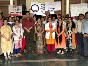 World Oral Health Day 2017-Rally with theme 'No Tobacco'