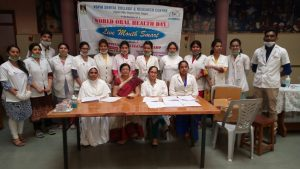 World Oral Health Day 2017-Diagnostic Campat  School for Specially Abled Children