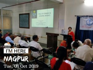 alumni guest lecture - importance of dental and oral health amongst elderly 2019