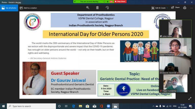 Dean-Dr-Usha-Radke-sharing-views-on-occasion-768x432