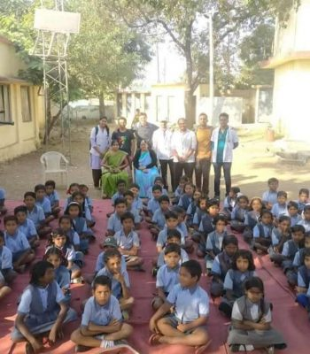 CHILDRENS DAY PROGRAMME WAS ORGANIZED AT ZP SCHOOL ISASANI