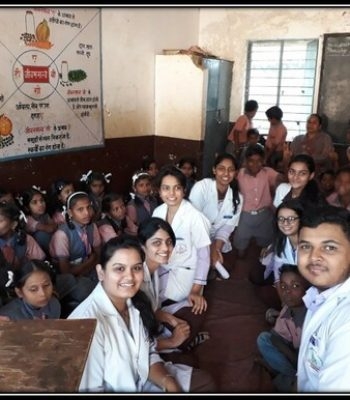 SWA members celebrated Childrens day at near by Z.P. school with primary students.