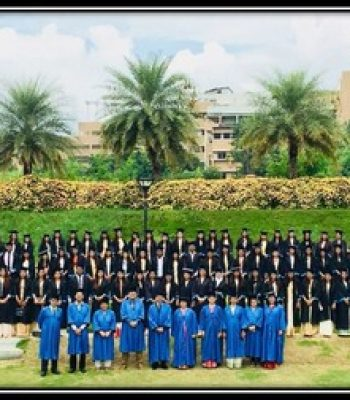 The member of SWA assisted the interns monitoring committee in the graduation ceremony of interns batch 2017-18.