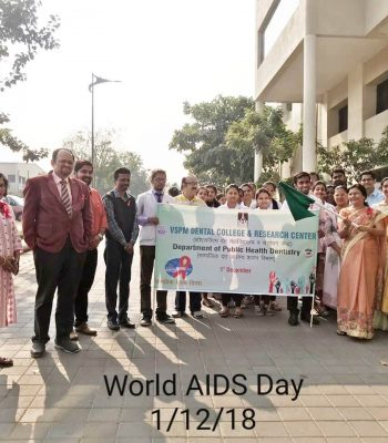 WORLD AIDS DAY RALLY ORGANIZED ON 1ST DECEMBER IN THE CAMPUS TO SPREAD AWARENESS